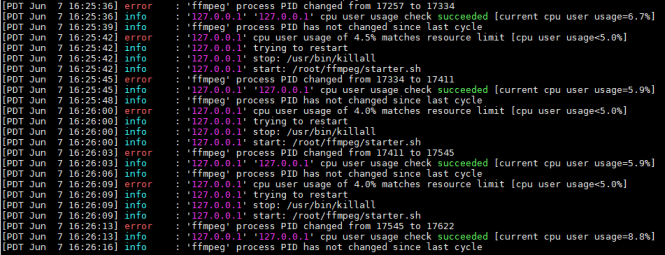 Restarting FFMPEG Using Monit - Computer How To