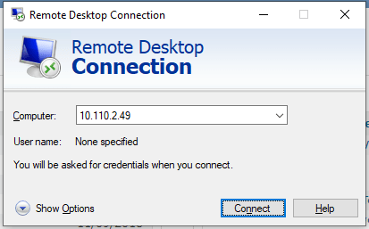Access CentOS From Windows Remote Desktop