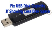 How To Fix USB Drive Showing Wrong Size