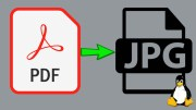 How to Convert PDF to JPG in Linux using command line