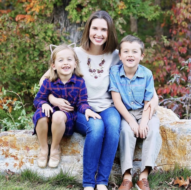 Anna and her kids