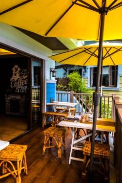 Cafe De Angelo Balcony
