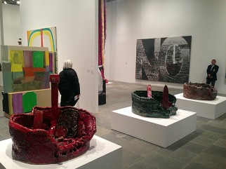 View of the Whitney Biennial 2014, Whitney Museum of American Art, New York, 2014.