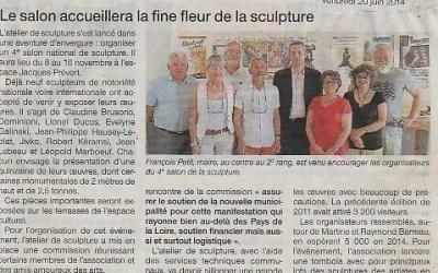 Ouest France – 20 juin 2014