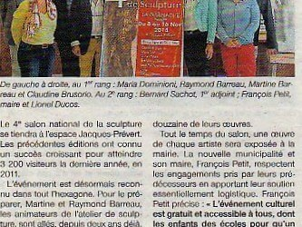 Ouest France – 19 oct 2014