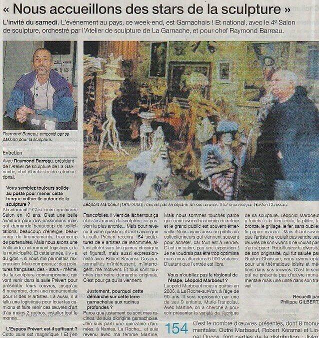 Ouest France – 8 9 Nov 2014