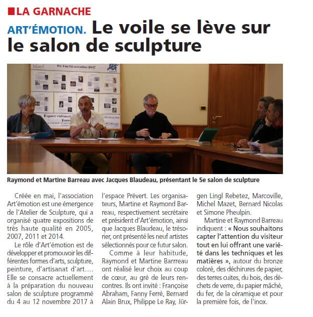 Courrier Vendéen – 28-07-2016