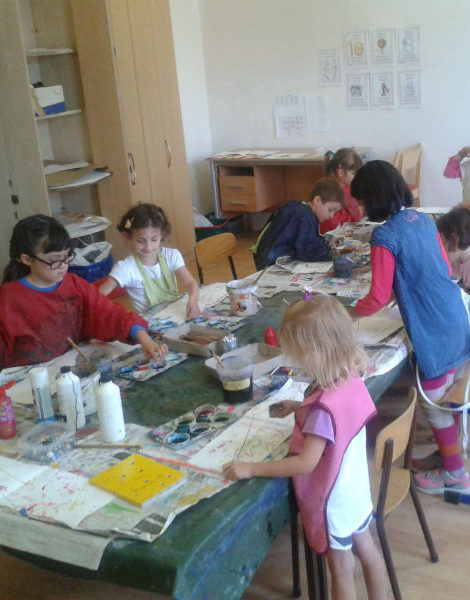 Kids art classes in Brussels