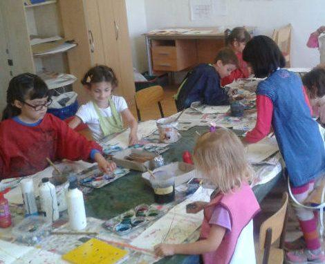 Kids art classes in Brussels