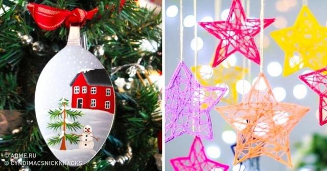 Жаңа жылдық үйлер өзіңіз жасайды: жаңадан бастаушыларға арналған фотолар