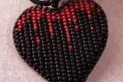 Beaded Hearts: Σχέδια για αρχάριους