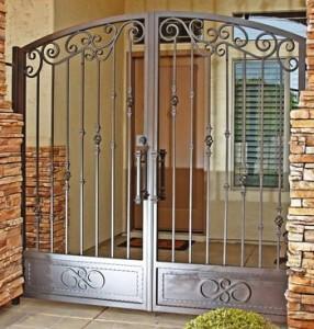 patio security gates houston