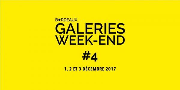 Bordeaux Galeries Week End 4 Du Vendredi 1 Décembre Au