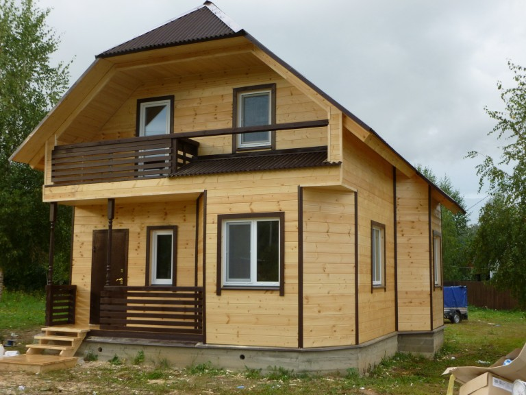 загородный дом под ключ