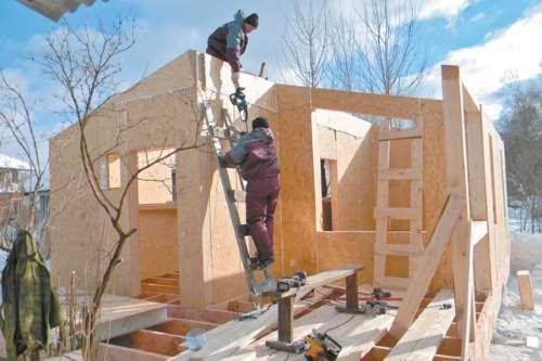 дома из sip панелей в Тюмени