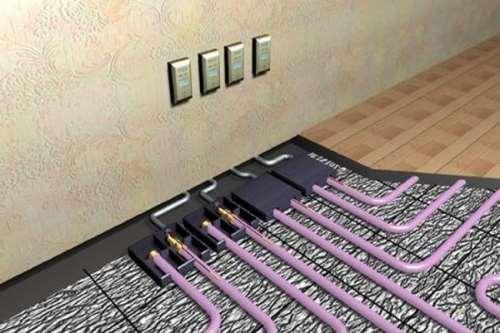 Электрический теплый пол: достоинства