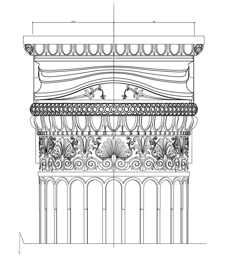 Ионическая угловая колонна