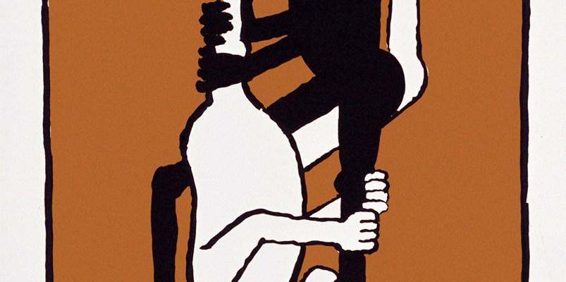 Черный/Белый Мощность Плакат Томи Унгерер