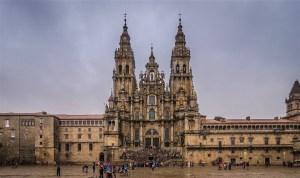 Башни собора Сантьяго-де-Компостела