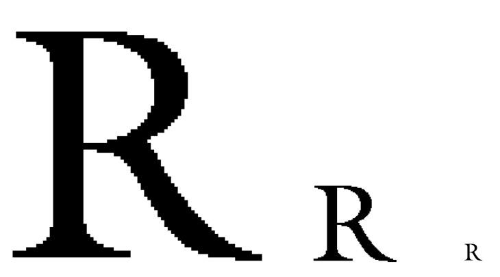 Основные виды шрифтов