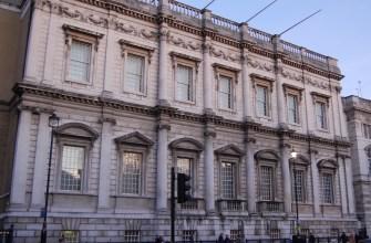 Иниго Джонс, банкетный дом, Лондон, начало 1619-22 г.