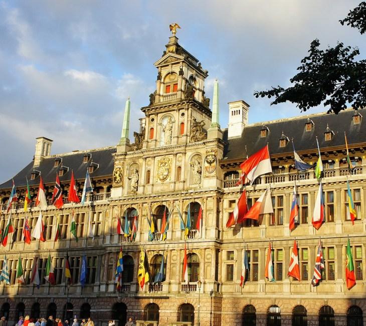 Корнелис Флорис де Вриндт, городская ратуша, Антверпен, Бельгия 1561-5 г.