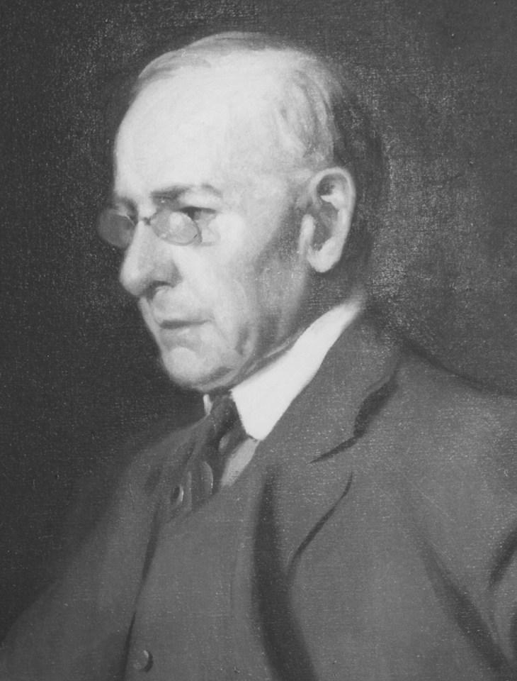 Луи Салливан, деталь картины маслом Фрэнка А. Вернера, 1919; в коллекции Чикагского исторического общества.