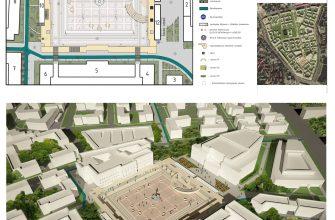 Реконструкция районов Парадеплац в городе Калининград. Диплом