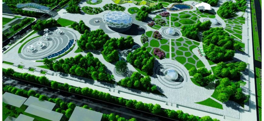 """Дизайн архитектурной среды экспериментального ландшафтного комплекса """"Флора"""""""