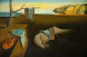 Стойкость памяти , холст, масло. Сальвадор Дали, 1931; в коллекции Музея современного искусства, Нью-Йорк.