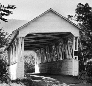 Крытый мост, гора Юнион, Па.