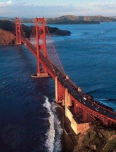 Мост Золотые Ворота, Сан-Франциско.