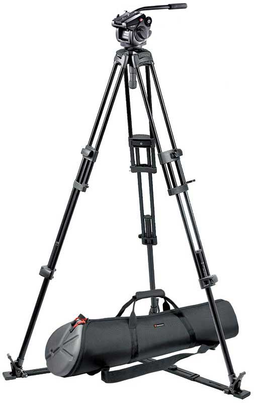 501hdv trépied manfrotto