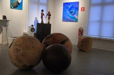 Houten sculpturen Jos Hofmans - Bronzen beelden Mark Dedrie