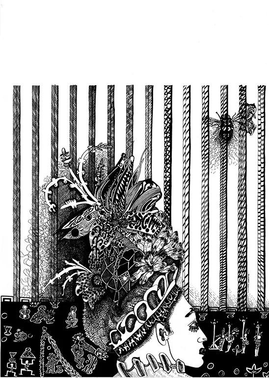 The Queen by Stéphanie Garbani