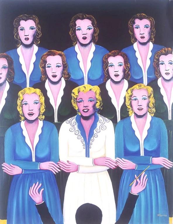 The Choir by Nayanaa Kanodia