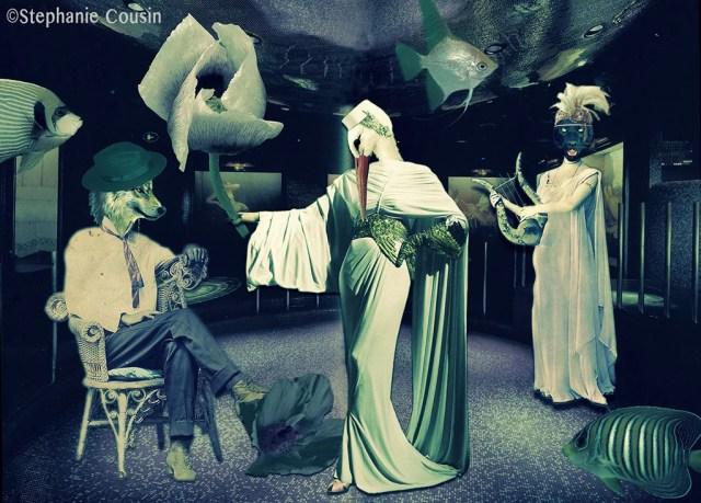 La danse de la femme cigogne by Stéphanie Cousin