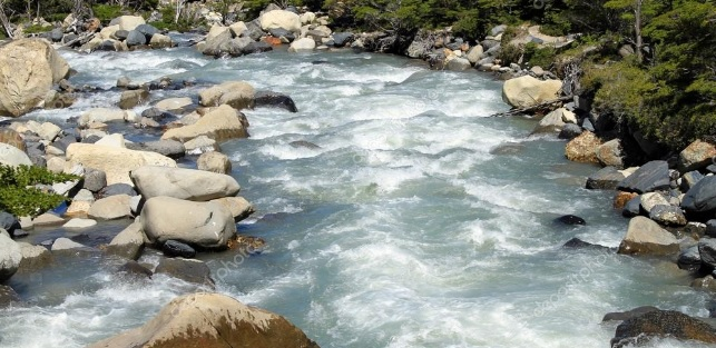 Wild River to depict free flowing life.