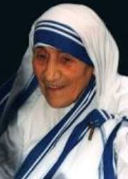 Mother Teresa a India novel prize winner