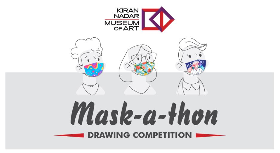 KNMA-Mask-A-Thon: Online drawing competition.