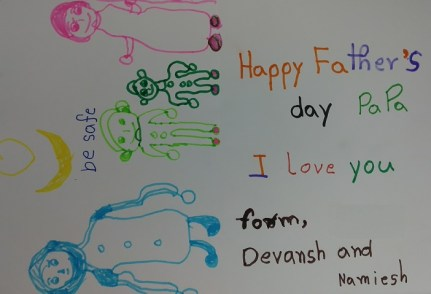 Devansh Greeting for a Father