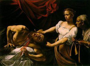 ホロフェルネスの首を斬るユーディット