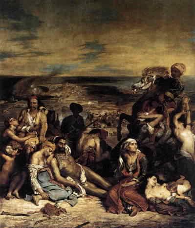 『キオス島の虐殺』