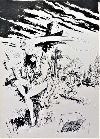 Marc Hardy - Planche Originale