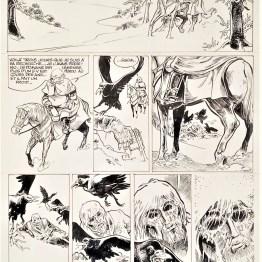 Planche originale Eric et Dupa - Coup d'oeil - Dargaud - Galerie Art Maniak