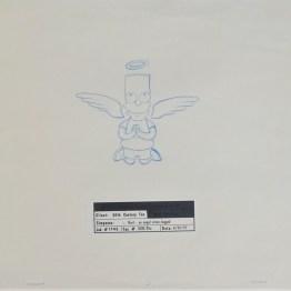 Dessin original Les Simpson - Galerie Art Maniak