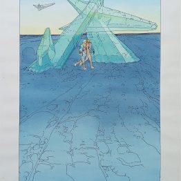 Dessin original Moebius - Galerie Art Maniak