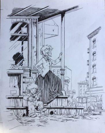 Xavier Fourquemin - Exposition planches originales - Galerie Art Maniak