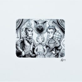 Exposition Benoit Dahan - Dans la tête de Sherlock Holmes - Planches originales