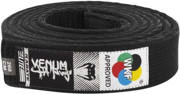 Ceinture noire karate Venum pour les fans de sport de combat